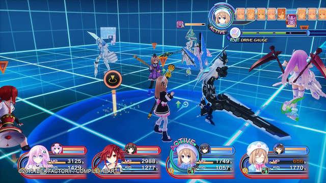Image: 160329 RPG ネプテューヌVII [7]四女神戦は何とかクリア