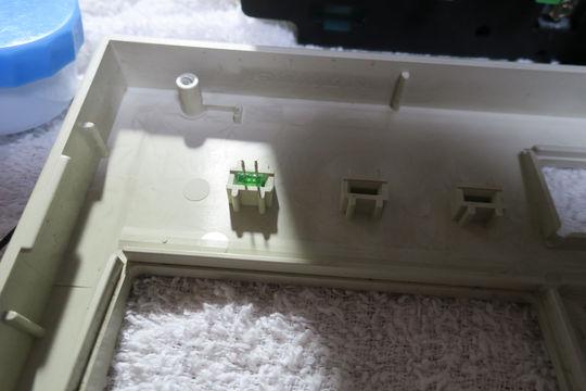 Image: 002型 ALPSスイッチ接点