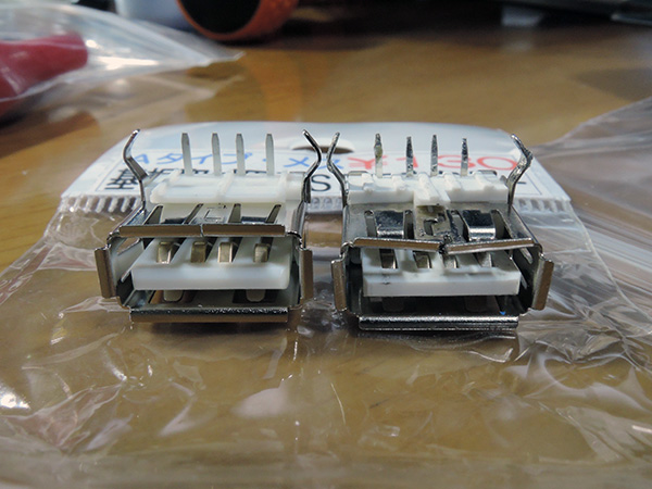 Image: USB端子の状態