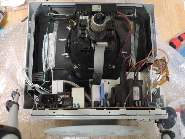 Image: EIZO T566 ビデオユニット取り外し