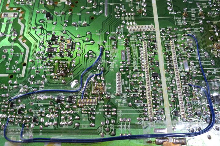 Image: EIZO T566 メイン基板修理