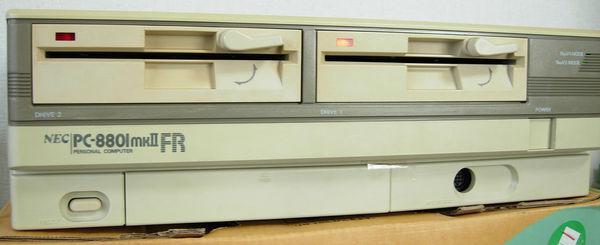 Image: PC-8801mkIIFR ベゼル漂白