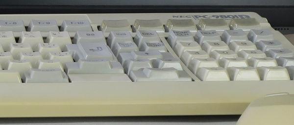 Image: PC-9801Rキーボード