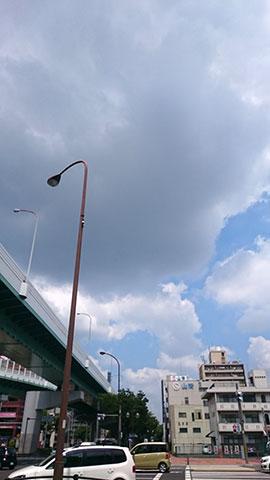 Image: 空の観察(ウェザーリポート)始めました