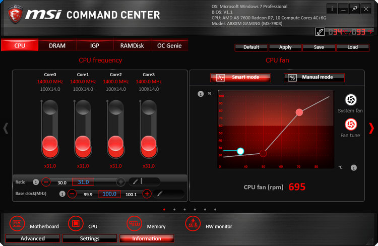 Image: MSI Command Center