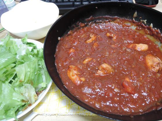 Image: 141007 鶏むね肉トマト煮