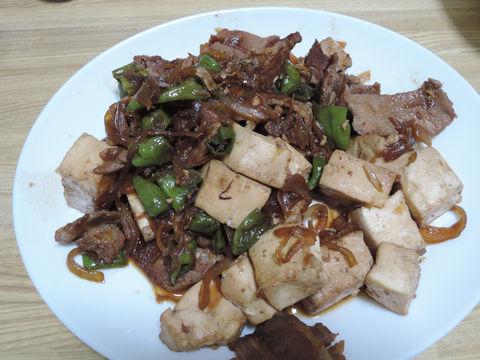 Image: 141015 木綿豆腐と豚肉のしょうが焼き