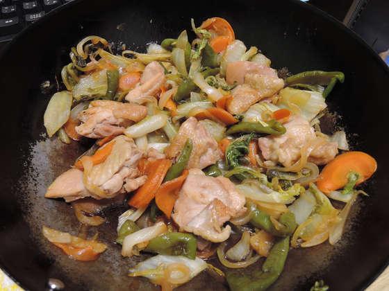 Image: 鶏もも肉と白菜のソテー