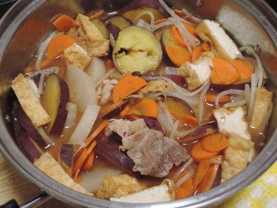 Image: 141202 大根・さつま芋・人参の煮物