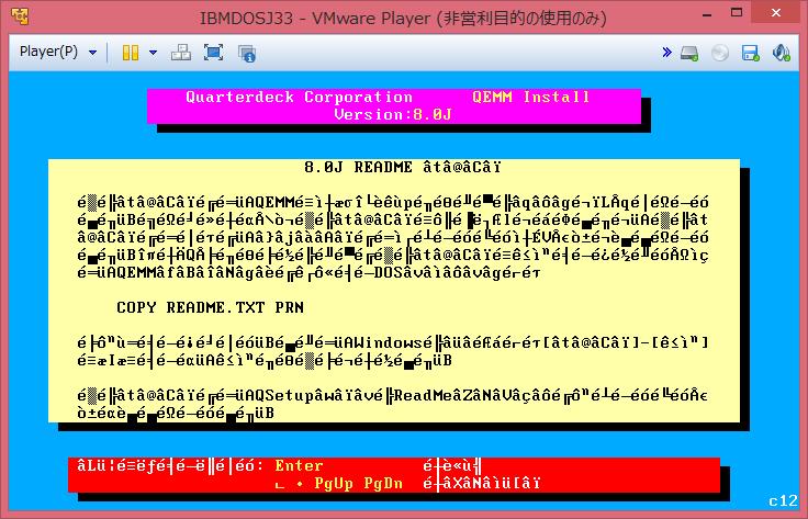 Image: QEMM 8.0J Setup