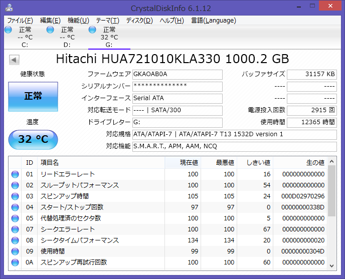 Image: 140421 HD HUA721010KLA330 12000h超 / OpenSSL Heart bleeds