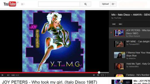 Image: 140414 Playlist of 80's Italo Disco