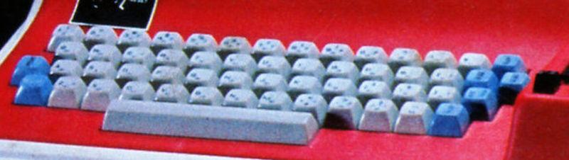 Image: 昔のPCの日本語キーボード配列を見比べる