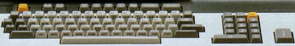 Image: Canon CX-1 keyboard