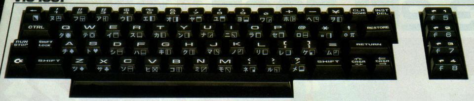 Image: Commodore VIC-1001 keyboard