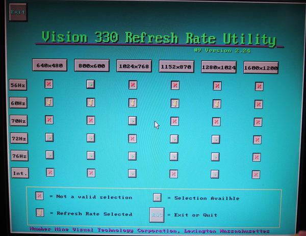 Image: Reflesh Rate Utility - 9FX Motion 331