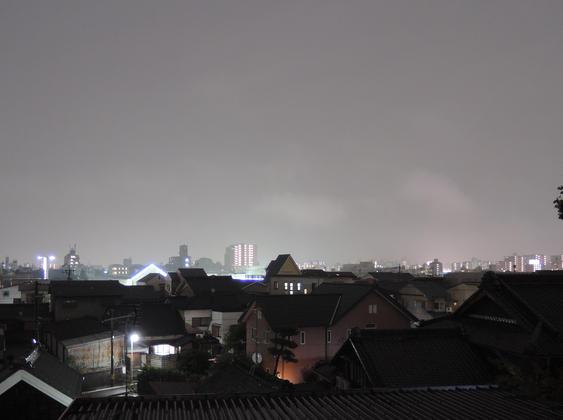 Image: 10月5日夜の名古屋の様子