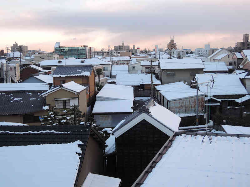 Image: 141214-18 雪降る寒さ / 豚肉と大根と長芋のオイスター炒め 他