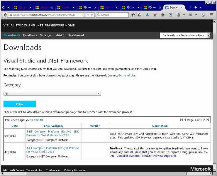 Image: 141227 MSの旧製品に対するサポート扱いはひどい [Visual Studio]