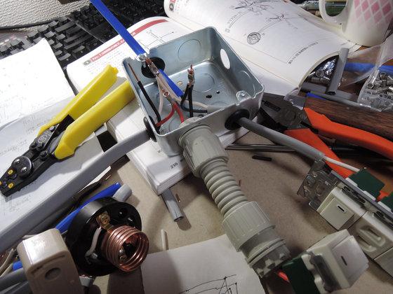 Image: 電気工事士2種 実技練習