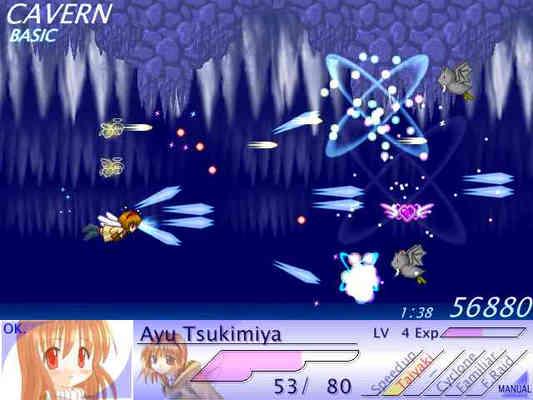 Image: 150210 同人STG『Feather Raid』(2002年)をプレイ