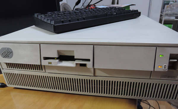 Image: IBM PS/55 モデル5550-T(5551-T09) 始動