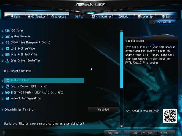 Image: ASRock UEFI