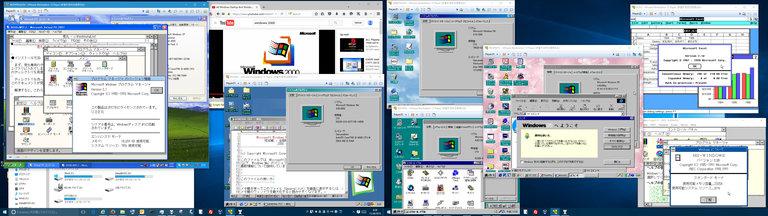 Image: Win3.1/95/98/Me/XP on Win10