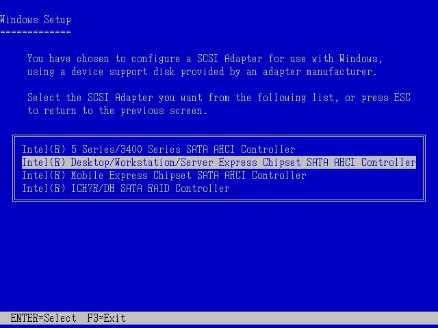 Image: Windows XP セットアップ