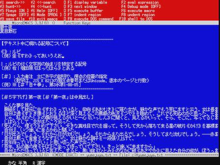 MicroEMACS 3.9J(V)