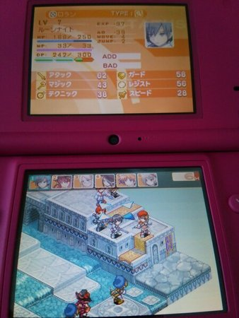 Image: 140909 SRPG Luminous Arc 2 [2]イスティアの町までプレイ [game]