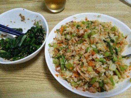 Image: 140821 小松菜ドライカレー [cook]