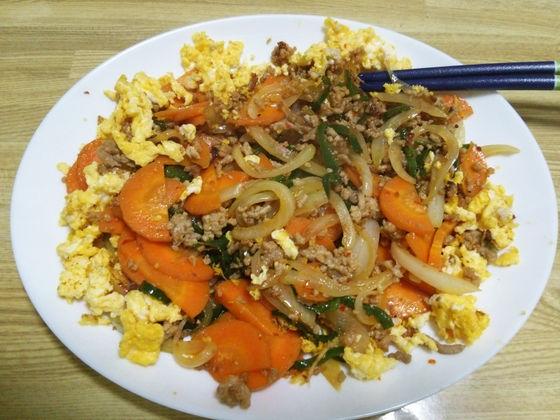 Image: 140904 挽き肉の豆板醤炒め [cook]