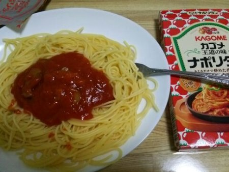 Image: 140815 レトルトナポリタン [cook]