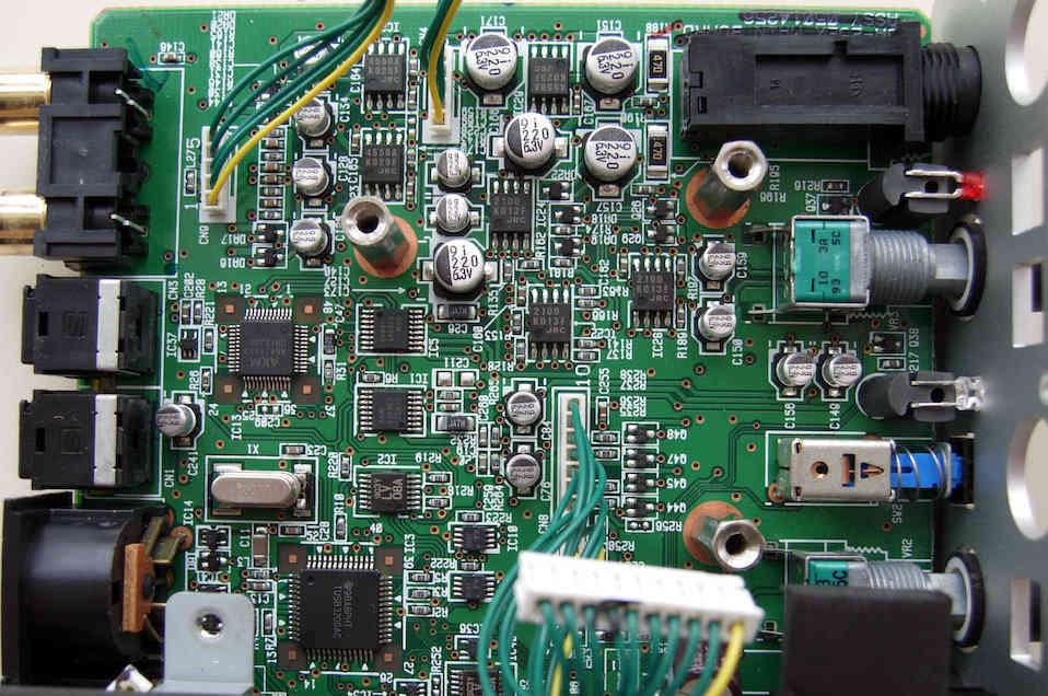 UA-25EX PCB