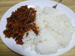 Image: 140910 そぼろ風みじん切り野菜炒め味噌風味 [cook]