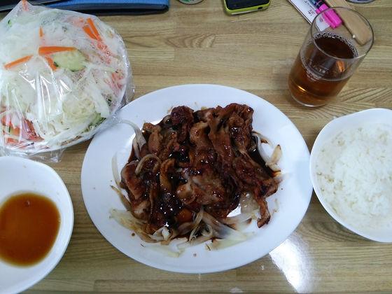 Image: 140729 豚肉のしょうが焼き [cook]