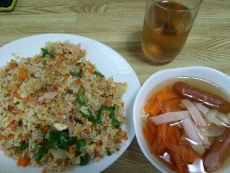 Image: 140807 チャーハン/コンソメスープ[cook]