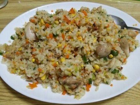 Image: 140825 鶏むね肉入りチャーハン [cook]