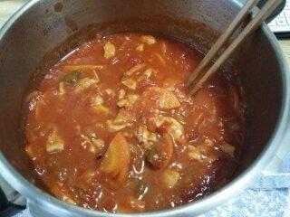 Image: 140827 鶏むね肉のトマトジュース煮込み [cook]