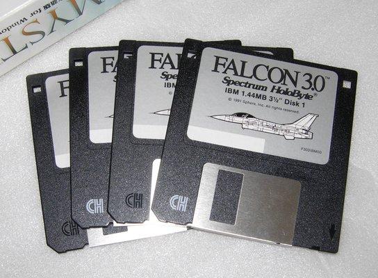 Image: FALCON 3.0 disks
