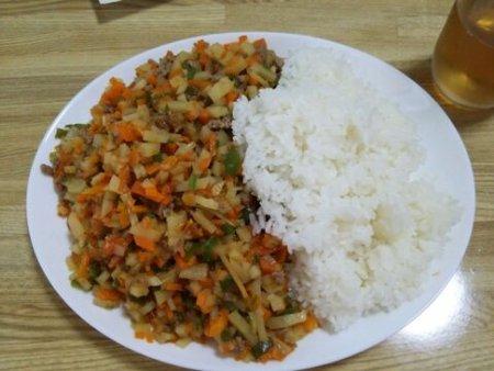 Image: 140811 キーマカレー(嘘)ライス [cook]