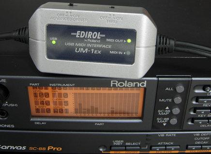 Image: DOSBoxから外部MIDI音源にMIDI出力