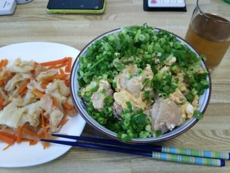Image: 140731 親子丼 [cook]