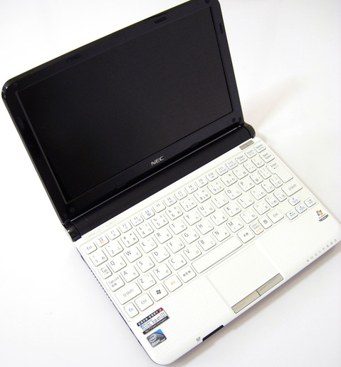 Image: 10.1型ネットブック『NEC LaVie Light BL350/FW』