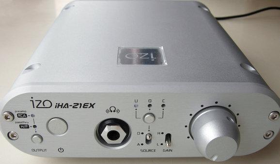 Image: izo iHA-21EX USB-DAC内蔵ヘッドホンアンプ