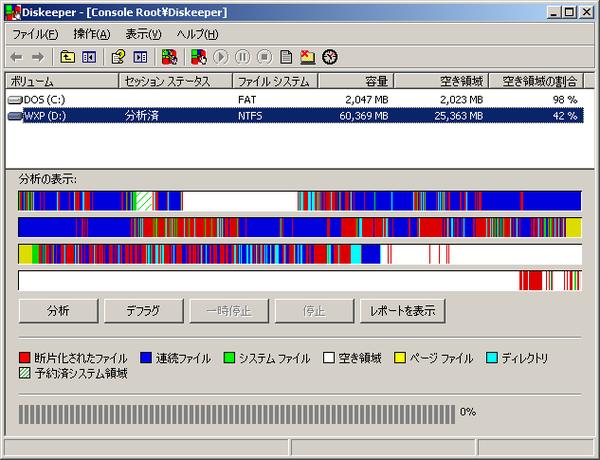 Diskeeper 6.0 日本語版