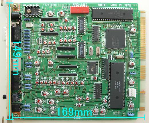 PC-9801-86 PCB board