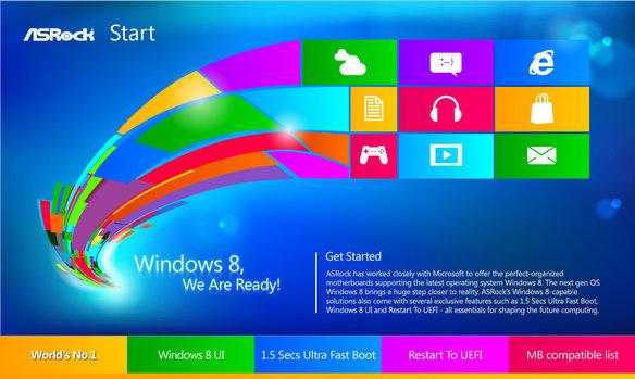 Image: Fast Boot機能を使う [UEFI+Win8]