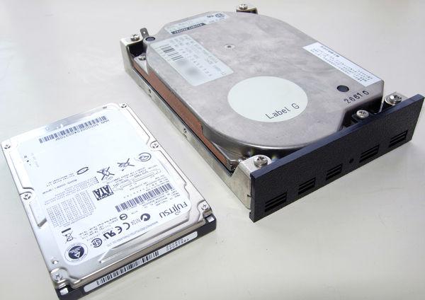 Image: 富士通 3.5インチ 40MB SCSI-HDD M2611Sについて